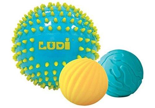 Ludi Ludi 3 Sensoriële Ballen