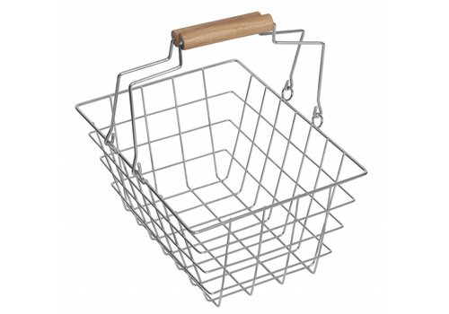 Polly Polly Metal Shoppingbasket