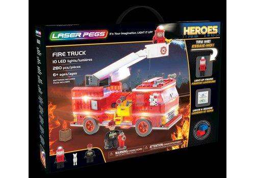 Laser Pegs Laser Pegs Heroes Brandweerwagen