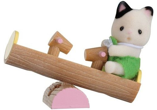 Sylvanian Families Sylvanian Families Baby Cat & Double Swing