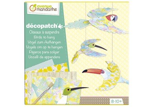Avenue Mandarine Avenue Mandarine Décopatch Vogels Om Op Te Hangen DIY Kit