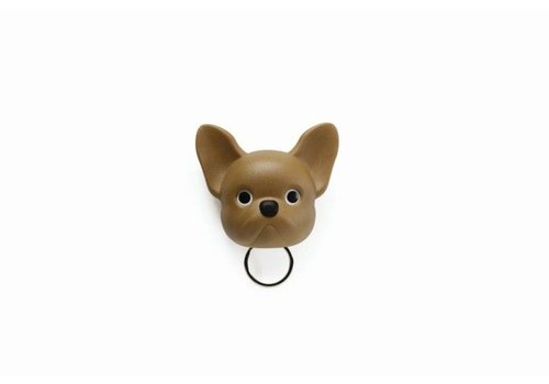 Qualy Qualy Frenchy Key Holder Brown