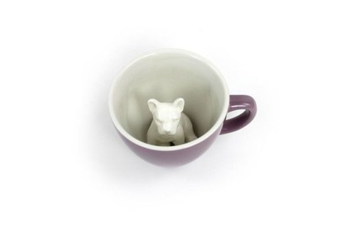 Creature Cups Creature Cups Frenchie de Hond Paars