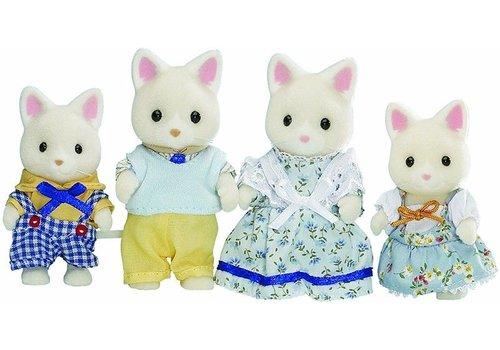 Sylvanian Families Sylvanian Families Silk Cat Family