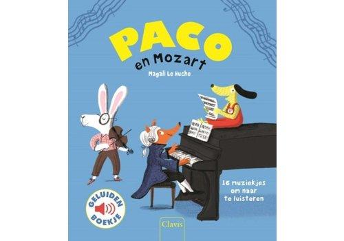 Clavis Clavis Geluidenboek Paco en Mozart