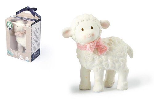 Tikiri Tikiri Lila & Lucas Rubber Toy Lila the Lamb