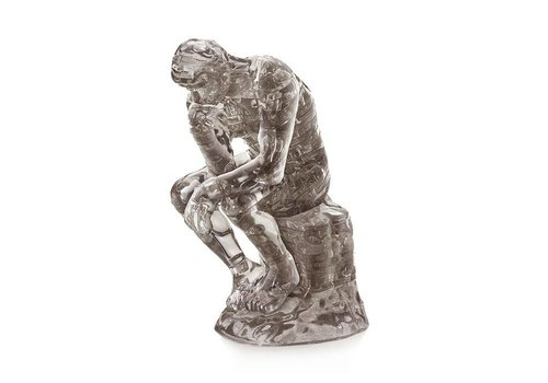 Crystal Puzzle Crystal Puzzle 3D Puzzel The Thinker 43 pieces