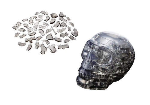 Crystal Puzzle Crystal Puzzle 3D Puzzel The Skull 48 pieces