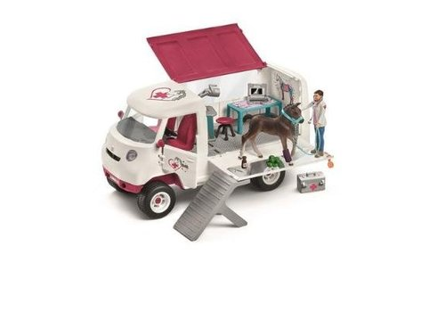 Schleich Schleich Horse Club Mobile Vet With Foal
