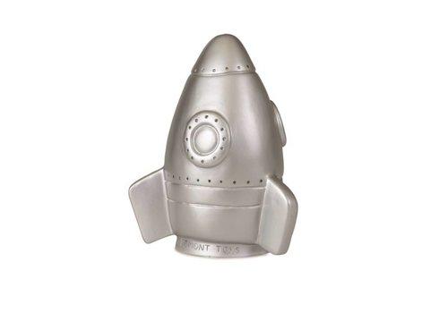 Heico Heico Lamp Silver Rocket