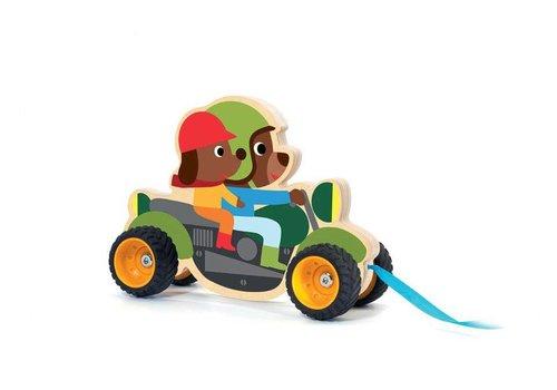 Djeco Djeco Pull Toy Terreno Bike