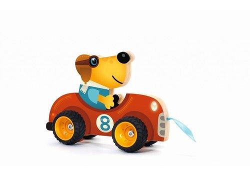 Djeco Djeco Pull Toy Terreno Car