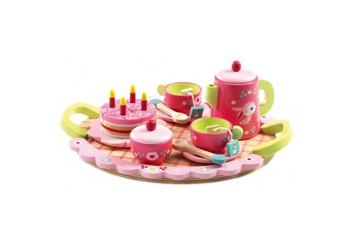 Djeco Djeco verjaardagsset 'het servies van Lili Rose'