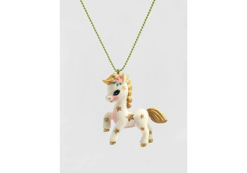 Djeco Djeco Lovely Charms Necklace Poney
