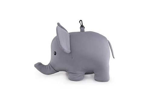 Kikkerland Kikkerland Elephant Zip & Flip Kussen