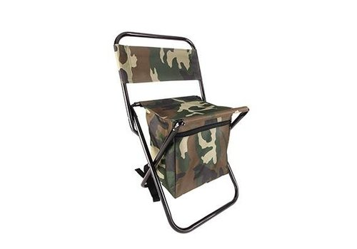 Kikkerland Kikkerland Camo Backpack Folding Chair