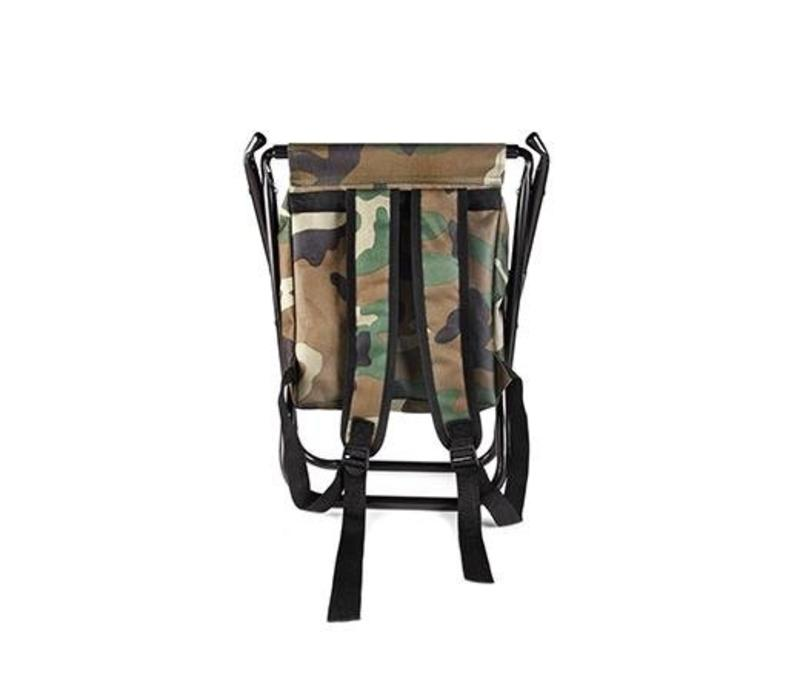 Terrific Kikkerland Kikkerland Camo Backpack Folding Chair Unemploymentrelief Wooden Chair Designs For Living Room Unemploymentrelieforg