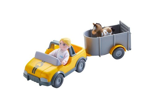 Haba Haba Little Friends VetCar With Trailer