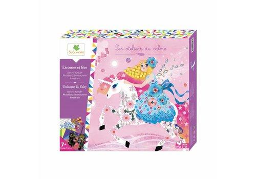 Sycomore Sycomore Les Ateliers du Calme Unicorn & Fairy Art& Craft Set