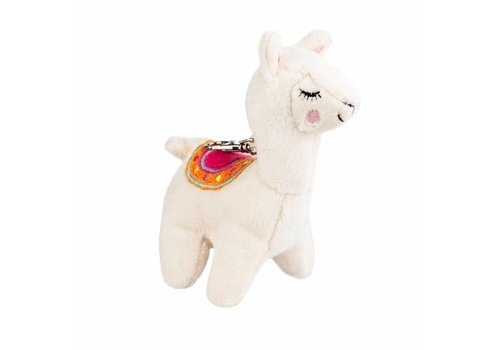 Sass & Belle Sass & Belle Little Llama Plush Bag Charm