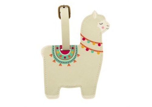Sass & Belle Sass & Belle Lima Llama Luggage Tag