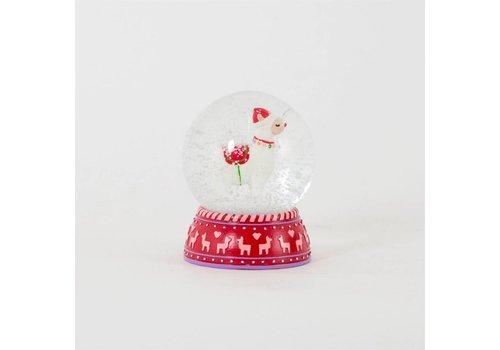 Sass & Belle Sass & Belle Fa La La Llama Snow Globe Decoration
