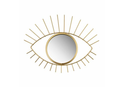 Sass & Belle Sass & Belle Gold Tribal Eye See You Mirror