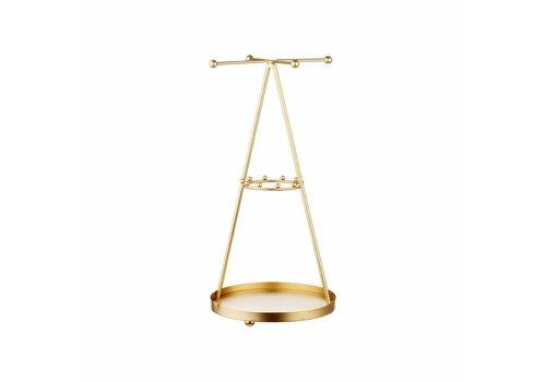 Sass & Belle Sass & Belle Gold Pyramide Juwelenhouder