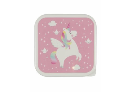Sass & Belle Sass & Belle Rainbow Unicorn Lunch Box