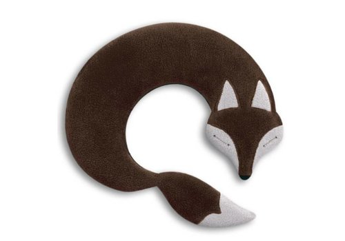 Leschi Leschi Warming Pillow Noah The Fox Chocolat