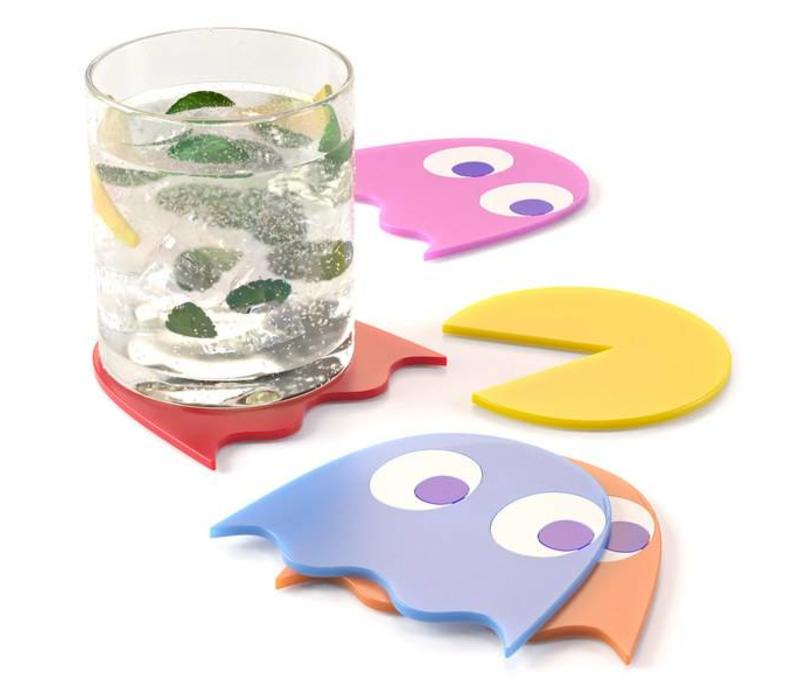 Balvi Pac-Man Coasters Set of 5