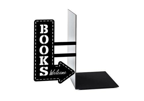Balvi Balvi Boekensteun Bookshop  Zwart