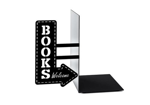 Balvi Balvi Bookend Bookshop Black