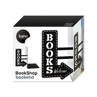 Balvi Boekensteun Bookshop  Zwart