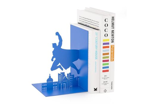 Balvi Balvi Bookend Superhero Blue