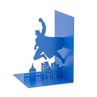 Balvi Bookend Superhero Blue