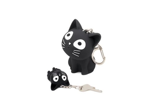 Balvi Balvi Keychain Katy with Sound & Light Black