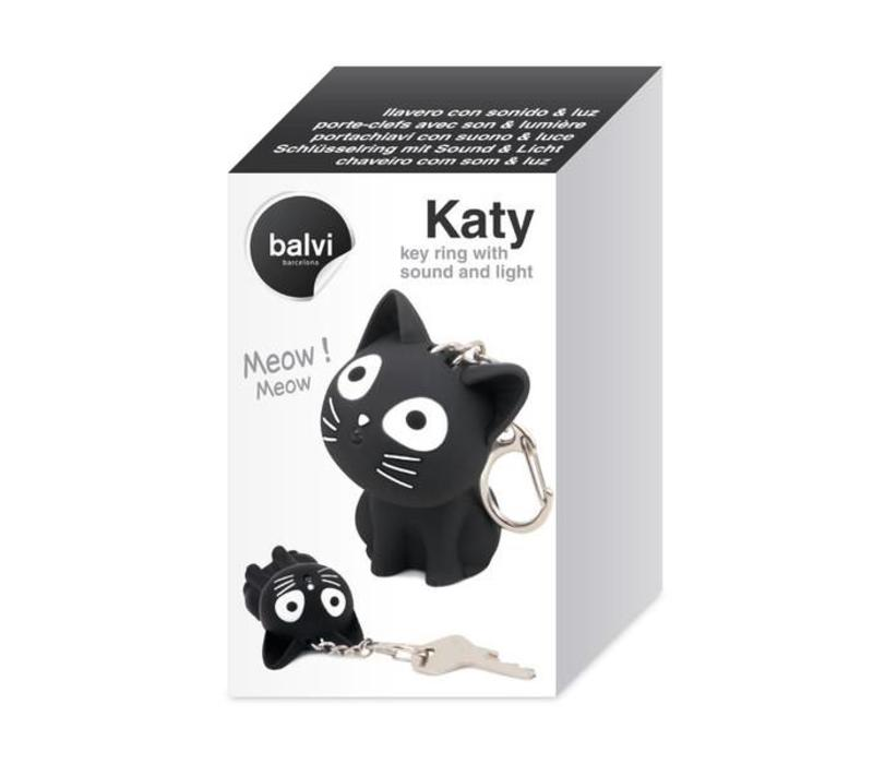 Balvi Keychain Katy with Sound & Light Black