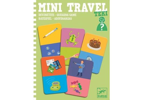 Djeco Djeco Mini Travel Teki Guessing Game