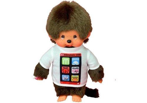 Monchhiichi Monchhichi Boy With T-Shirt Smartphone 20 cm