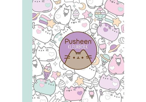 Clavis Pusheen Coloring Book