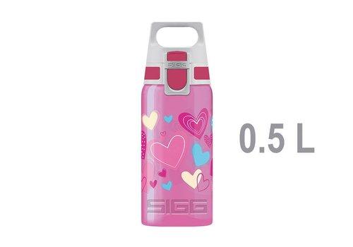 Sigg Sigg Viva Water Bottle 0,5 L - Hearts
