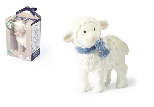 Tikiri Tikiri Lila & Lucas Rubber Toy Lucas the Lamb