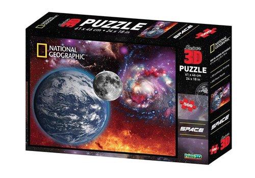 Prime3D Prime 3D Puzzel Ruimtelandschap 500 stuks