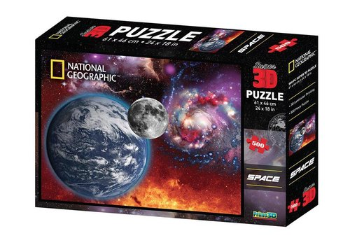 Prime3D Prime 3D Puzzle Space 500 Pieces