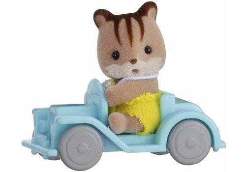 Sylvanian Families Sylvanian Families Baby Draagdoosje Eekhoorn op auto