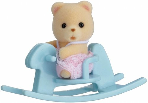 Sylvanian Families Sylvanian Families Baby Bear On Swinghorse