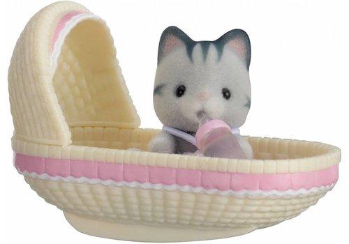Sylvanian Families Sylvanian Families Cat in Crib