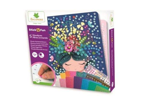 Sycomore Sycomore Stick & Fun Mosaics Enchanted Dreams