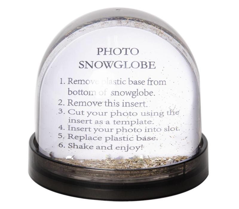 Balvi Glitter Bowl Picture Frame